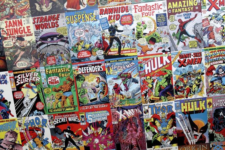 Alcuni famosi e belli fumetti americani (foto di Sam Howzit via Flickr)