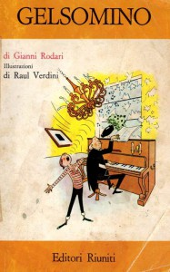 Una delle prime edizioni delle avventure di Gelsomino