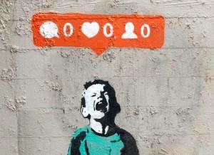 Un famoso murale dello street artist canadese iHeart