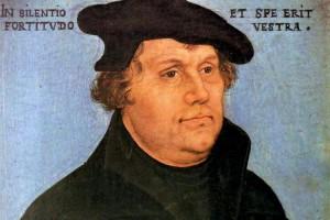Martin Lutero in un celebre ritratto