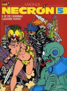Necron, l'originalissima creazione di Magnus di inizio anni '80