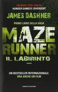 La copertina di Maze Runner. Il labirinto, primo volume della saga di James Dashner