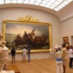 Washington che passa il Delaware, uno dei quadri più importanti dal punto di vista patriottico della collezione del Metropolitan Museum of Art