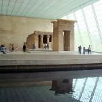 La ricostruzione del tempio egiziano di Dendur