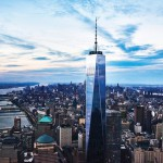 Il One World Trade Center che svetta su New York