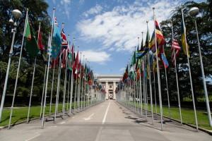 Il Palazzo delle Nazioni a Ginevra, dove si svolgono la gran parte degli incontri bilaterali internazionali (foto di Tom Page via Flickr)