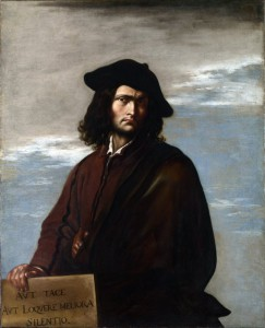 Un autoritratto di Salvator Rosa