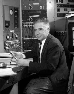 Emilio Segrè nel 1954