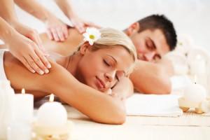 Una seduta di coppia in spa è una delle cose più romantiche che si possano fare in montagna