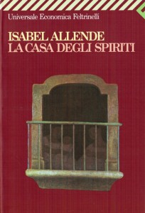 La copertina dell'edizione italiana de La casa degli spiriti