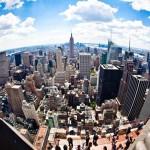 La splendida vista di New York dal Top of the Rock