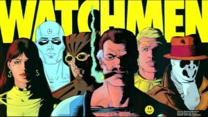 Alcuni dei personaggi di Watchmen, il fumetto che ha rovesciato il mito dei supereroi