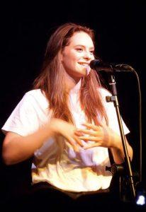Francesca Michielin in concerto (foto di Pottercomuneo via Wikimedia Commons)