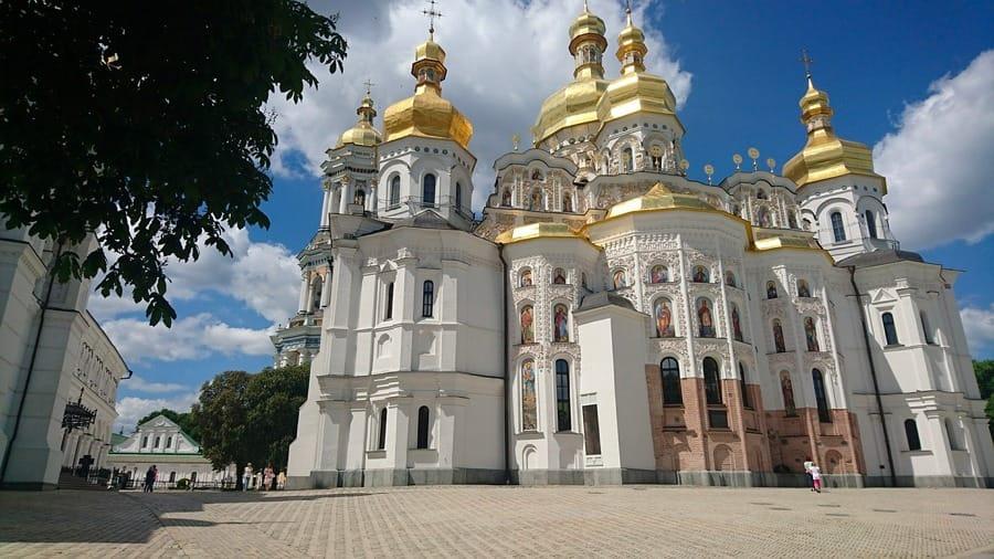 La chiesa ortodossa di Kiev