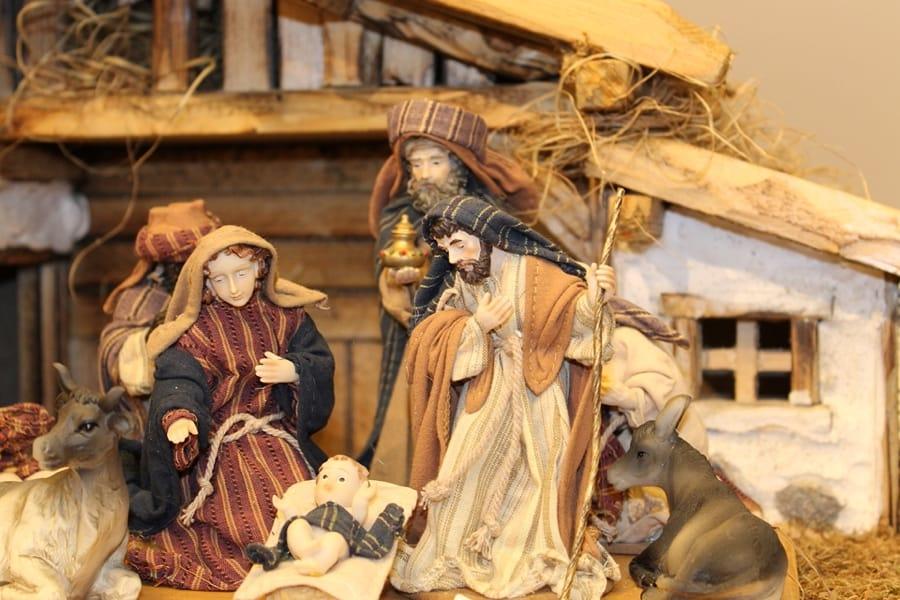 Il presepe e l'aspetto religioso del 25 dicembre