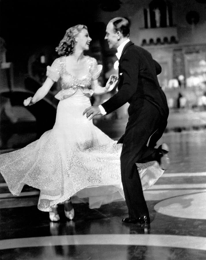 Fred Astaire e Ginger Rogers