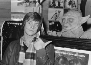 Mark Hamill, interprete di Luke Skywalker