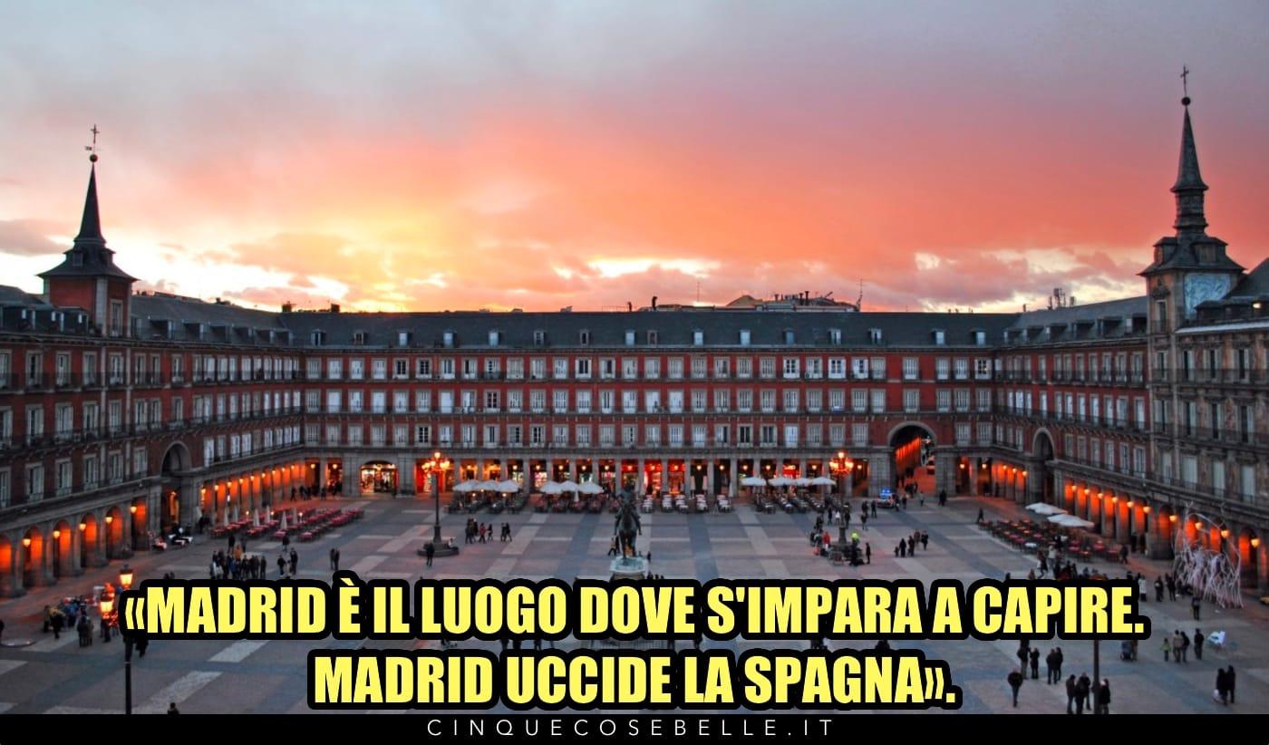 La citazione di Hemingway su Madrid