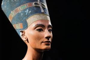 Il busto di Nefertiti conservato a Berlino