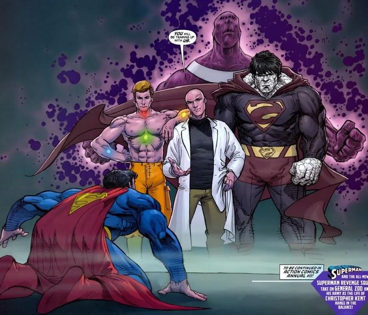 La guida ai più pericolosi nemici di Superman