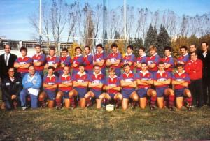 La Rugby Rovigo del 1988, in uno dei suoi momenti di massima forza