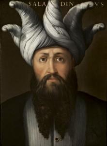 Il Saladino immaginato da Cristofano dell'Altissimo
