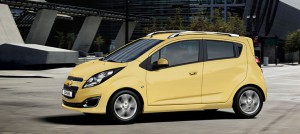 L'ormai non più in produzione (almeno per l'Europa) Chevrolet Spark