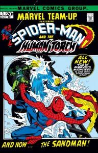 Il primo numero di Marvel Team-Up del 1972