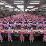 """Manufacturing"" di Edward Burtynsky"