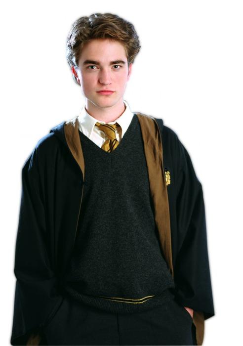 Cedric Diggory interpretato da un giovane Robert Pattinson