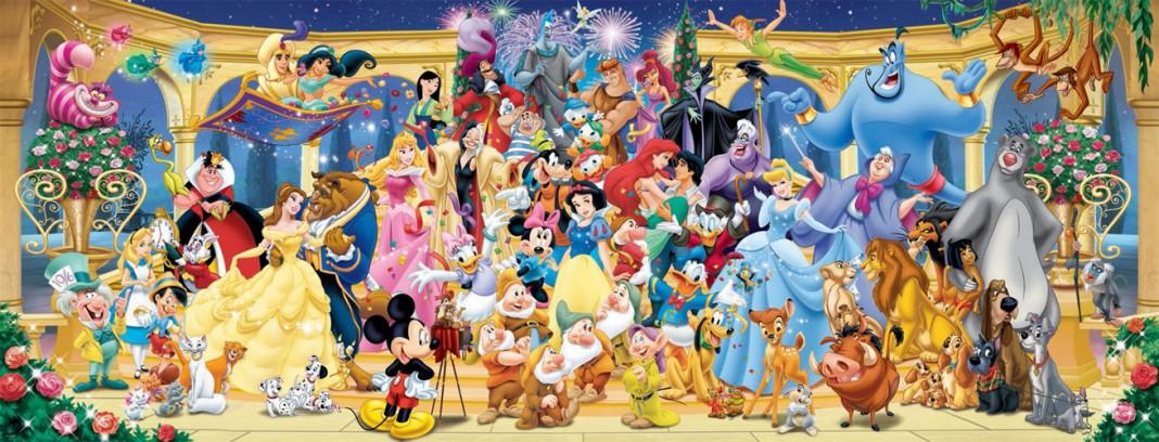 I più famosi personaggi dei film d'animazione Disney