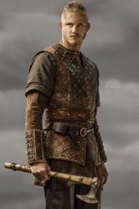 """Björn Fianco di Ferro nella recente serie TV """"Vikings"""""""