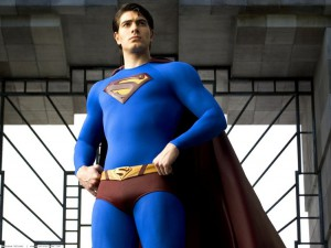 Brandon Routh in posa plastica