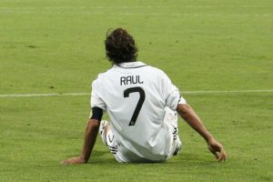 Raúl, storico numero 7 del Real Madrid (foto Juan Fernández via Flickr)