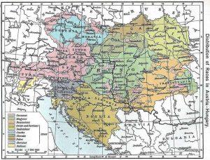 L'Impero Austro-Ungarico e le varie etnie che lo componevano