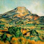 """Il quadro """"Mont Sainte-Victoire"""" di Cézanne"""