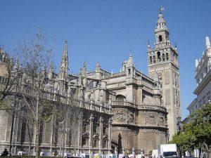 La gotica Cattedrale di Siviglia