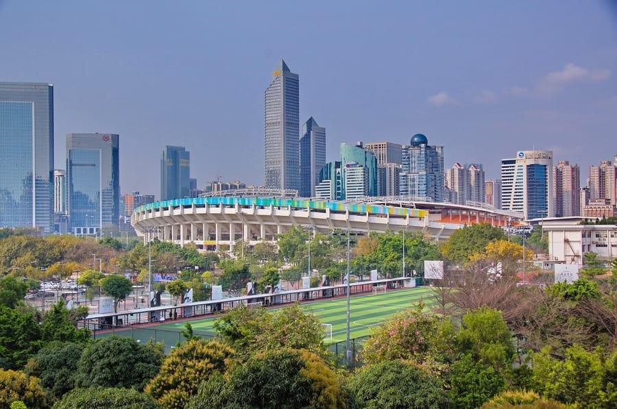 Canton, città molto grande e popolosa in Cina
