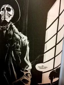 Skull Cowboy nelle pagine del fumetto
