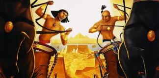 """Mosè gioca col futuro faraone in """"Il principe d'Egitto"""", uno dei più famosi film ispirati alla Bibbia"""