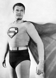George Reeves, protagonista del serial Adventures of Superman