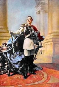 Guglielmo II in un ritratto del 1890