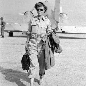 Marguerite Higgins, donna al fronte