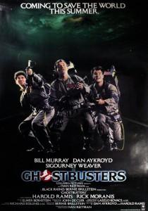 Il manifesto originale del film Ghostbusters