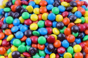 I numerosi colori delle M&M's