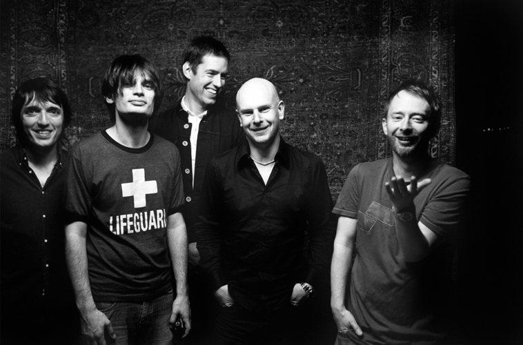I Radiohead fotografati in tempi piuttosto recenti