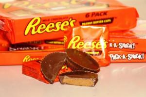 Il burro d'arachidi ricoperto di cioccolata dei Reese's