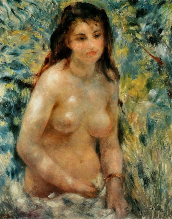 Nudo al sole, uno dei più grandi quadri francesi dell'Ottocento
