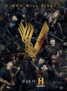 Una bella pubblicità di Vikings
