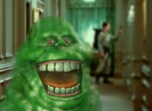 Slimer, il fantasmino doppiato da Ivan Reitman